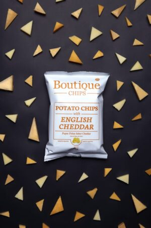 Papas Fritas English Cheddar – Boutique Chips