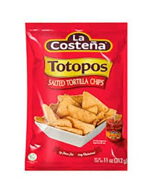 TOTOPOS, TORTILLA CHIPS SALTED