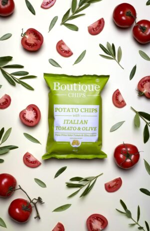 Italian Tomato & Olive – Boutique Chips