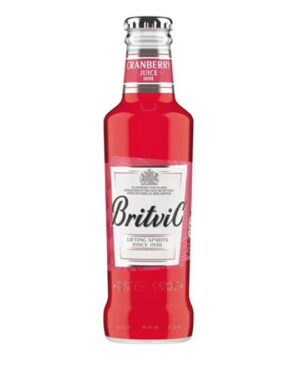 CRANBERRY JUICE BRITVIC X 200ML