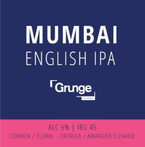 English IPA MUMBAI 1947 – Grunge