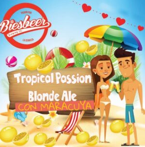 Tropical Passion Blonde Ale Con Maracuyá – Biesbeer